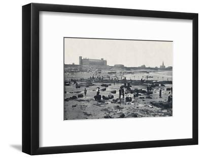 'Tynemouth - The Aquarium and Sands', 1895-Unknown-Framed Photographic Print