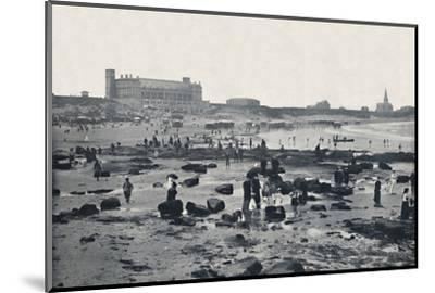 'Tynemouth - The Aquarium and Sands', 1895-Unknown-Mounted Photographic Print