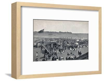 'South Shields - All The Fun Of The Fair.', 1895-Unknown-Framed Photographic Print
