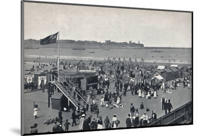 'South Shields - All The Fun Of The Fair.', 1895-Unknown-Mounted Photographic Print