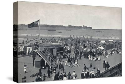 'South Shields - All The Fun Of The Fair.', 1895-Unknown-Stretched Canvas Print