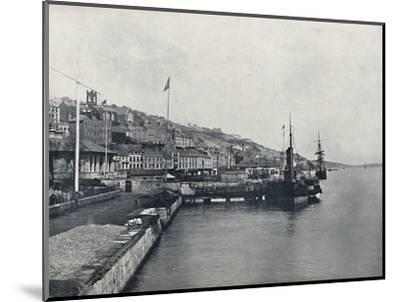 'Queenstown - Looking Along the Shore', 1895-Unknown-Mounted Photographic Print