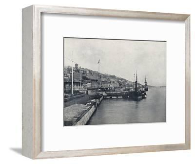 'Queenstown - Looking Along the Shore', 1895-Unknown-Framed Photographic Print