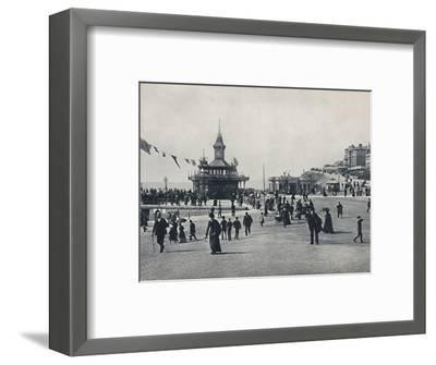 'Bournemouth - The Pier Approach', 1895-Unknown-Framed Photographic Print