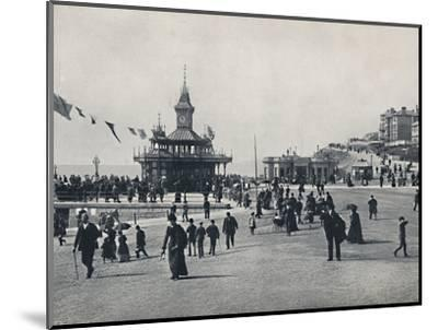 'Bournemouth - The Pier Approach', 1895-Unknown-Mounted Photographic Print