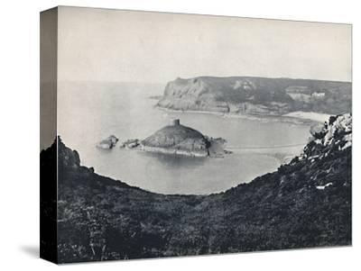 'Jersey - Portelet Bay and Janvrin Island', 1895-Unknown-Stretched Canvas Print