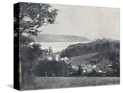 'Llanstephan - The Village and the Castle-Crowned Hill', 1895-Unknown-Stretched Canvas Print