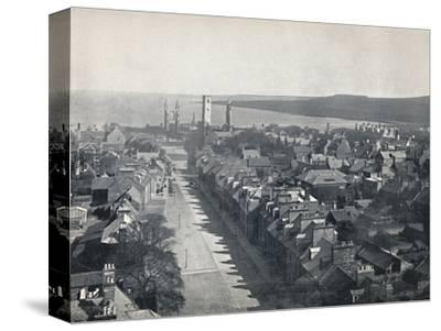 'St. Andrews - View of the Town from College Church Tower', 1895-Unknown-Stretched Canvas Print