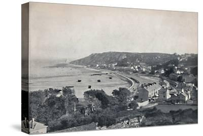 'Mumbles - The Town and the Bay', 1895-Unknown-Stretched Canvas Print