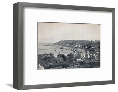 'Mumbles - The Town and the Bay', 1895-Unknown-Framed Photographic Print