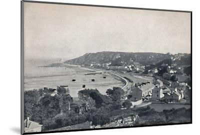 'Mumbles - The Town and the Bay', 1895-Unknown-Mounted Photographic Print
