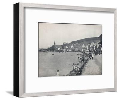 'Port Bannatyne - A Pleasant Walk', 1895-Unknown-Framed Photographic Print