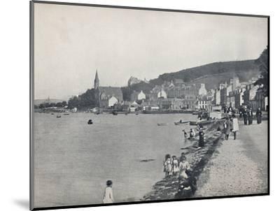 'Port Bannatyne - A Pleasant Walk', 1895-Unknown-Mounted Photographic Print
