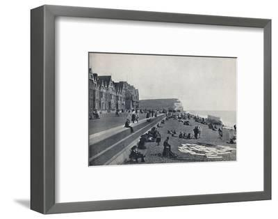 'Seaford - The Parade', 1895-Unknown-Framed Photographic Print