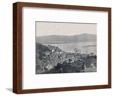 'Aberdovey - View of the Town and the Bay', 1895-Unknown-Framed Photographic Print