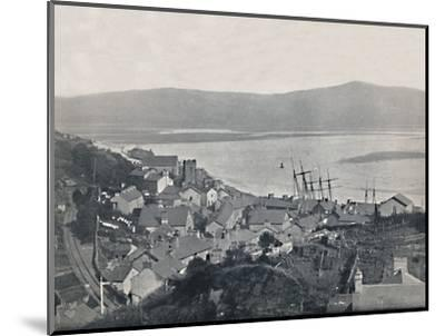 'Aberdovey - View of the Town and the Bay', 1895-Unknown-Mounted Photographic Print