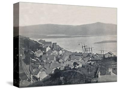 'Aberdovey - View of the Town and the Bay', 1895-Unknown-Stretched Canvas Print