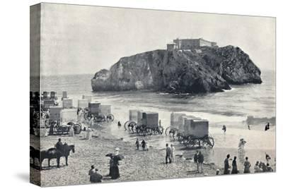 'Tenby - St. Catherine's Rock and Fort', 1895-Unknown-Stretched Canvas Print