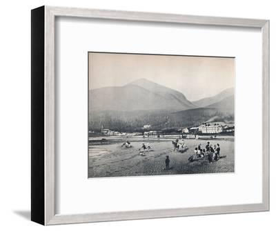 'Newcastle, Co. Down. - The Strand, with Slieve Donard', 1895-Unknown-Framed Photographic Print