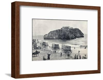 'Tenby - St. Catherine's Rock and Fort', 1895-Unknown-Framed Photographic Print