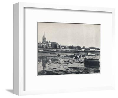 'Harwich - The Beach at Low Tide', 1895-Unknown-Framed Photographic Print