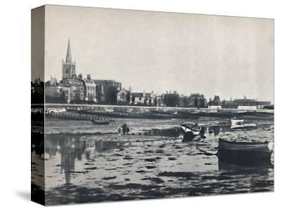 'Harwich - The Beach at Low Tide', 1895-Unknown-Stretched Canvas Print