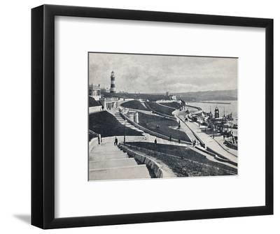 'Plymouth - The Hoe', 1895-Unknown-Framed Photographic Print