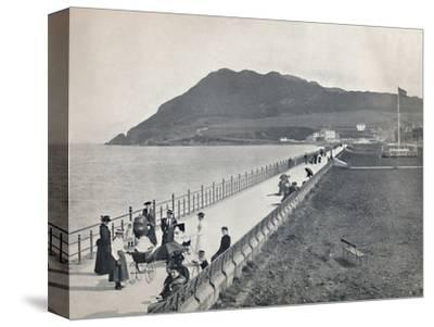 'Bray - The Promenade and Bray Head', 1895-Unknown-Stretched Canvas Print