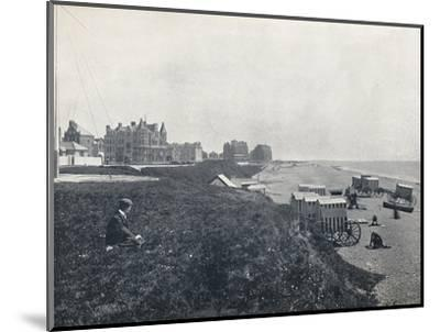 'Bexhill - The Hotels and the Beach', 1895-Unknown-Mounted Photographic Print