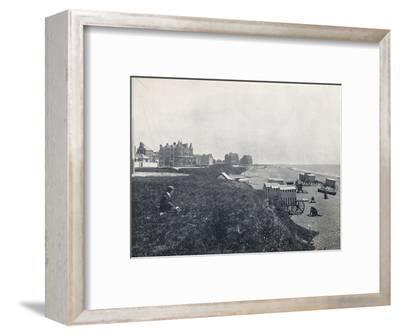 'Bexhill - The Hotels and the Beach', 1895-Unknown-Framed Photographic Print