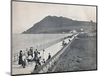 'Bray - The Promenade and Bray Head', 1895-Unknown-Mounted Photographic Print