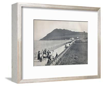 'Bray - The Promenade and Bray Head', 1895-Unknown-Framed Photographic Print