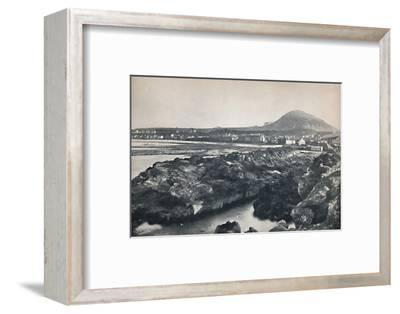 'North Berwick - From the Rocks, Showing North Berwick Law', 1895-Unknown-Framed Photographic Print