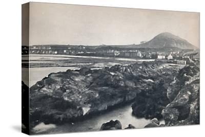 'North Berwick - From the Rocks, Showing North Berwick Law', 1895-Unknown-Stretched Canvas Print