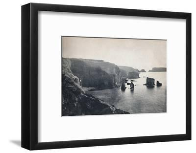 'Sark - Les Autelets Rocks', 1895-Unknown-Framed Photographic Print
