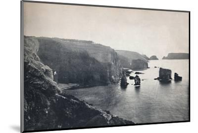 'Sark - Les Autelets Rocks', 1895-Unknown-Mounted Photographic Print
