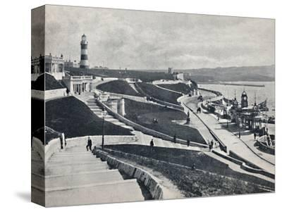 'Plymouth - The Hoe', 1895-Unknown-Stretched Canvas Print