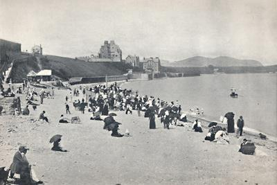 'Colwyn Bay - The Sands', 1895-Unknown-Framed Photographic Print