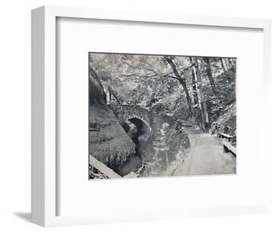 'Shanklin - The Chine', 1895-Unknown-Framed Photographic Print