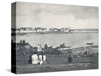 'Kilkee - Looking Across The Bay', 1895-Unknown-Stretched Canvas Print