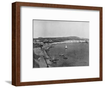 'Freshwater Bay - The Town and the Bay', 1895-Unknown-Framed Photographic Print