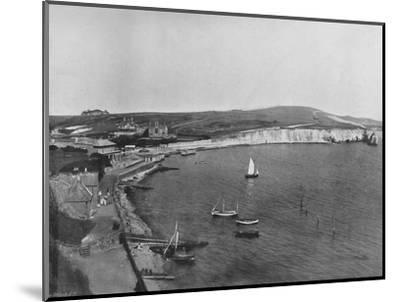 'Freshwater Bay - The Town and the Bay', 1895-Unknown-Mounted Photographic Print