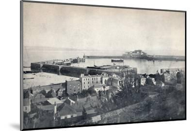'Guernsey - St. Peter-Port and Castle Cornet', 1895-Unknown-Mounted Photographic Print