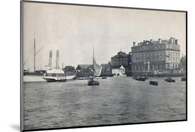 'Harwich - The Quay and Great Eastern Hotel', 1895-Unknown-Mounted Photographic Print