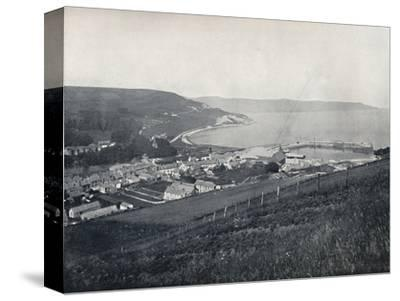 'Glenarm - The Town and the Harbour', 1895-Unknown-Stretched Canvas Print