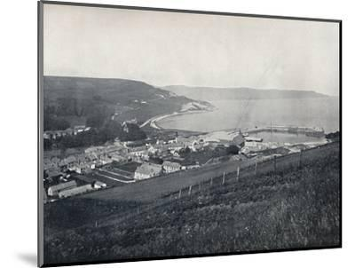 'Glenarm - The Town and the Harbour', 1895-Unknown-Mounted Photographic Print
