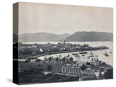 'Gourock - The Town and the Harbour', 1895-Unknown-Stretched Canvas Print