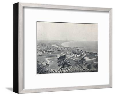 'Ramsey - From the Albert Tower', 1895-Unknown-Framed Photographic Print