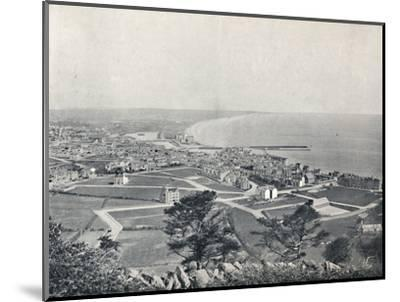 'Ramsey - From the Albert Tower', 1895-Unknown-Mounted Photographic Print
