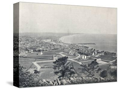 'Ramsey - From the Albert Tower', 1895-Unknown-Stretched Canvas Print